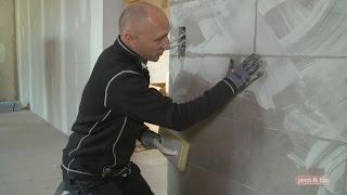 Vægfliser - lær om opsætning af fliser på væg i dit køkken eller bad