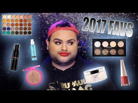 2017 BEAUTY FAVORITES! thumbnail