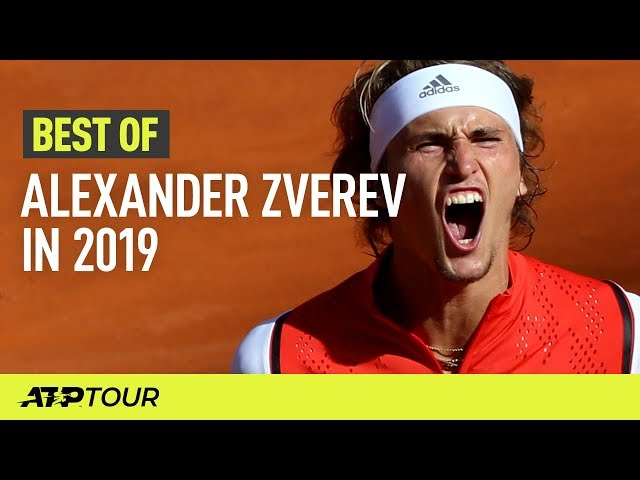 Alexander Zverev's Best ATP Shots in 2019 | ATP