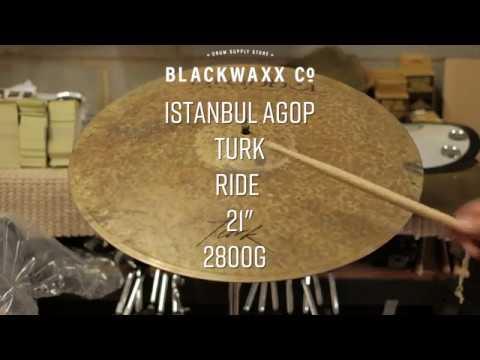 "Istanbul Agop - Turk 21"" Jazz Ride - For Sale on Blackwaxx.co"