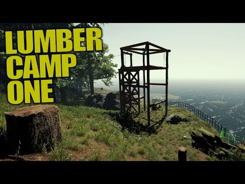 LUMBER CAMP ONE | The Forest | Let's Play Gameplay | S14E18