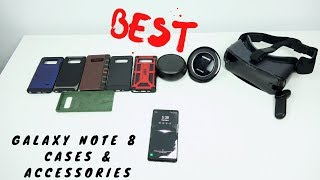 Best Galaxy Note 8 Cases & Accessories!