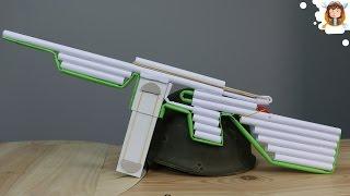 Como fazer uma Rifle de Papel que Dispara Balas
