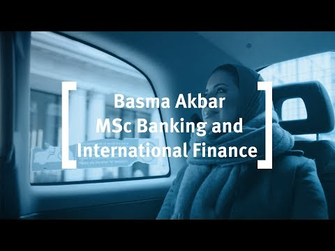 MSc in Banking and International Finance degree at Cass Business School