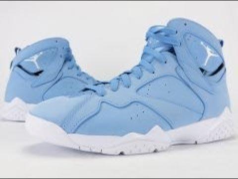 on sale 69ab8 3dc86 Cleaning my pair of Jordan 7 Phantom Blue's || Using CREP protect