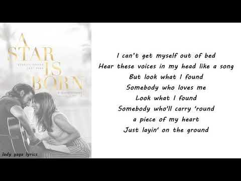 Lady Gaga - Look What I Found Lyrics