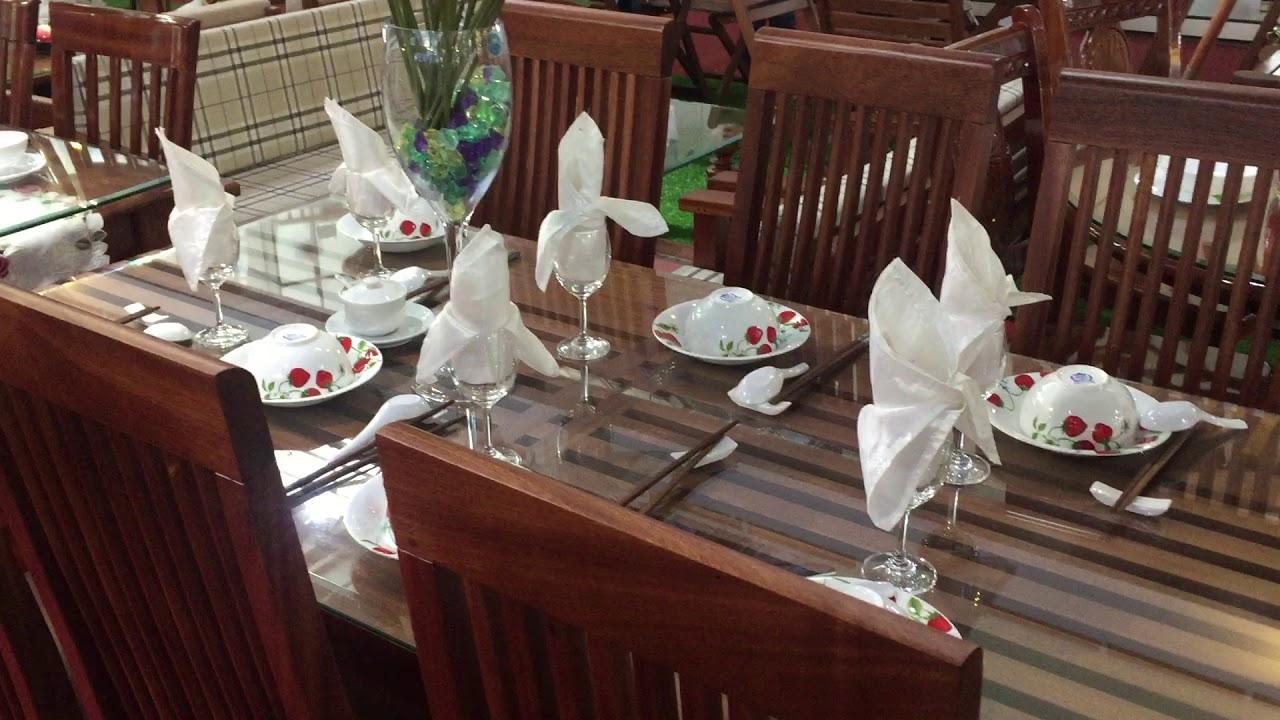 Bộ bàn ăn Vm2 ghế VM3 Hoàng Anh Gia Lai