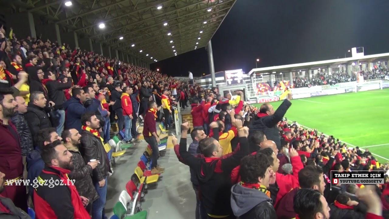Göztepe - Konyaspor Maçında Stadyum İzmir Marşı İle İnledi !!!