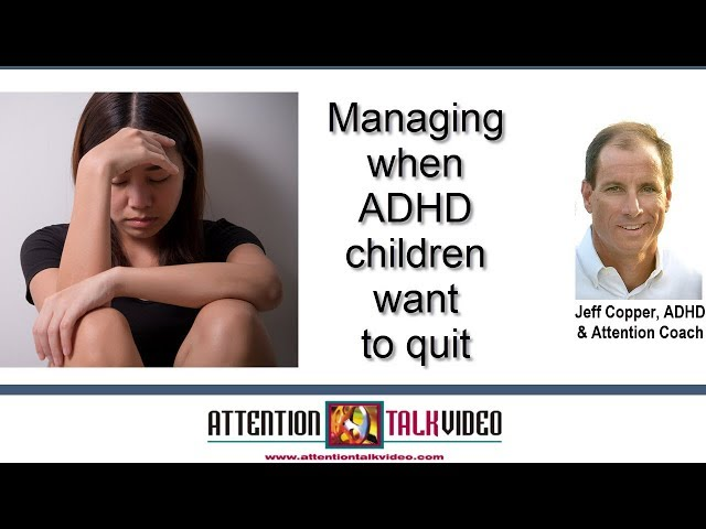 ADHD Mindset Tip: Should You Let Your Child Quit?