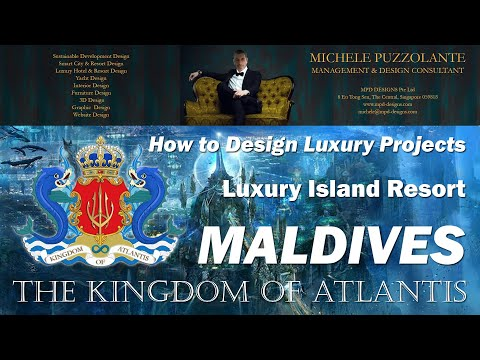 THE JEWEL OF MALDIVES - 7 STARS ISLAND RESORT by MPD Designs Pte Ltd
