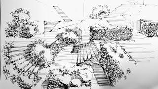 Рисование. Проектирование. Скетчинг.  Графика. Эдуард Кичигин. Стрим из Италии. / Видео