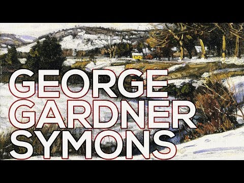George Gardner Symons: A collection of 55 paintings HD