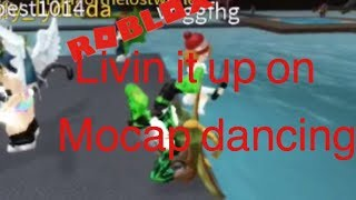 Partying it up on roblox mocap dancing || mandyy224