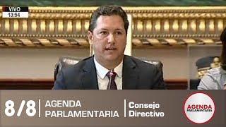 Sesión de Consejo Directivo 8/8 (21/12/18)