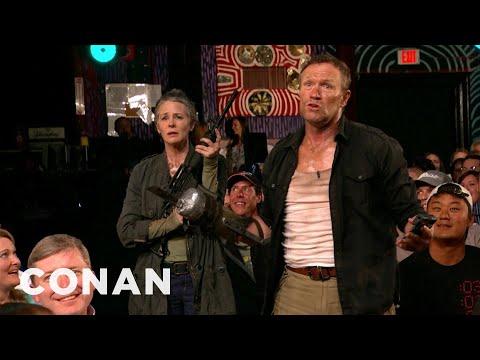 """The Walking Dead"" Invades CONAN Atlanta - CONAN on TBS"