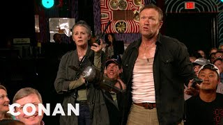 """The Walking Dead"" Invades CONAN Atlanta - CONAN on TBS"
