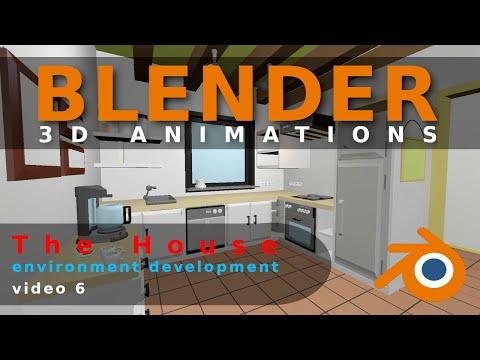 Blender Animation The House Video 6