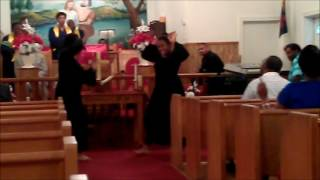 "Dance 2 Praise from New Unity MBC performing to ""God Provides"""