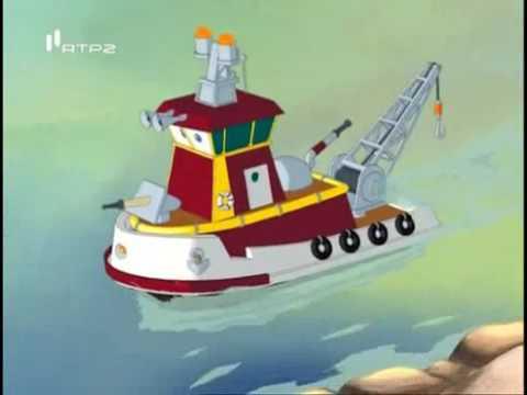 Desenho Infantil Animado O Barco Reboque Em Portugues Youtube