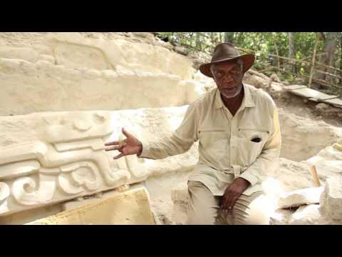 Morgan Freeman Visits El Mirador in Guatemala!