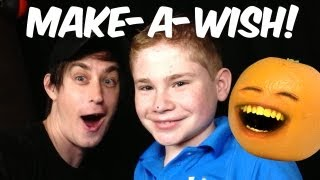 Make-A-Wish with Garrett! - DANEBOEVLOG