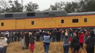 PRESIDENT GEORGE HW BUSH FAREWELL TRAIN RIDE TO COLLEGE STATION | RIP |BUSH 41
