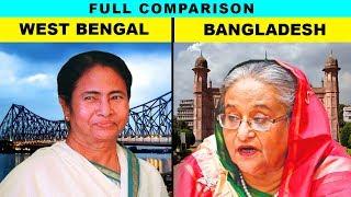 West Bengal vs Bangladesh (Hindi) Full comparison UNBIASED 2020   Natasha Dixit   India's top facts