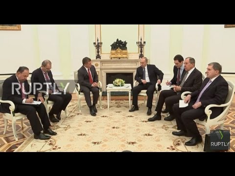 Russia: No military solution to the Syrian crisis - Putin speaking to King of Jordan