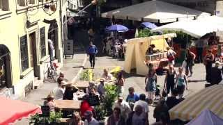 Swiss Ländler Gamblers  LAS PERLITAS  Flashmob