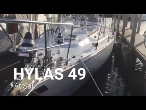 "Hylas 49 ""At Sail"" For Sale - A near perfect blue water boat!"