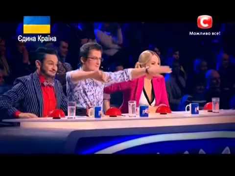 Украна ма талант 6 НАЧАЛО Днепропетровск 08.03.2014