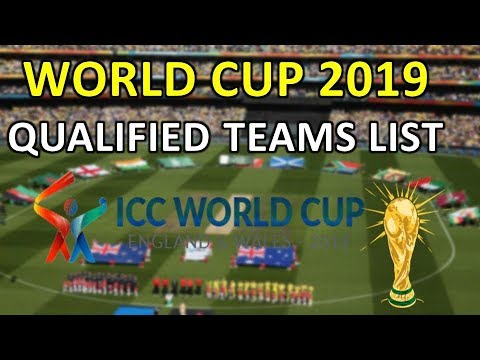 Icc world cup 2019 qualified teams    World cup 2019 qualifiers teams   8 teams qualified