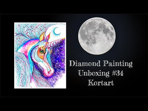 Diamond Painting Unboxing #34 - Kotart