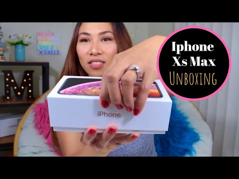 💐Iphone Xs MAX Unboxing | Maureen Scott💐