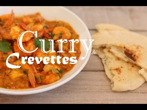 Cuisine Indienne Curry De Crevettes Youtube