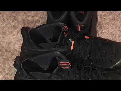 ccbf738f884 Sequoia Foamposite on foot review video - YouTube