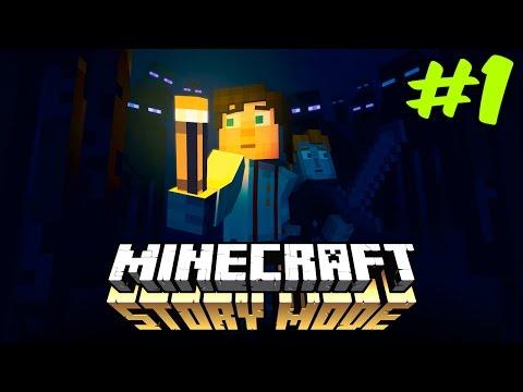 Minecraft Story Mode Episode 3 - Bölüm 1 - Tuzak !!! (Türkçe Anlatım)