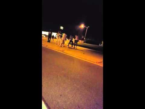 Fight in Wilmington Delaware then shots fire
