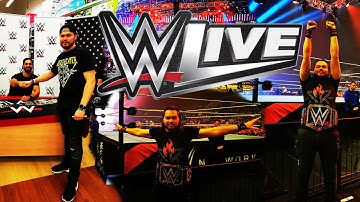 WWE LIVE MANNHEIM Vlog 💪👊 | Andi's Offsaison [02] • inkl. ALLE ENTRACES | Mannheim