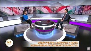 Orbán Viktor: A kormány a héten klímavédelmi akciótervet fogadott el