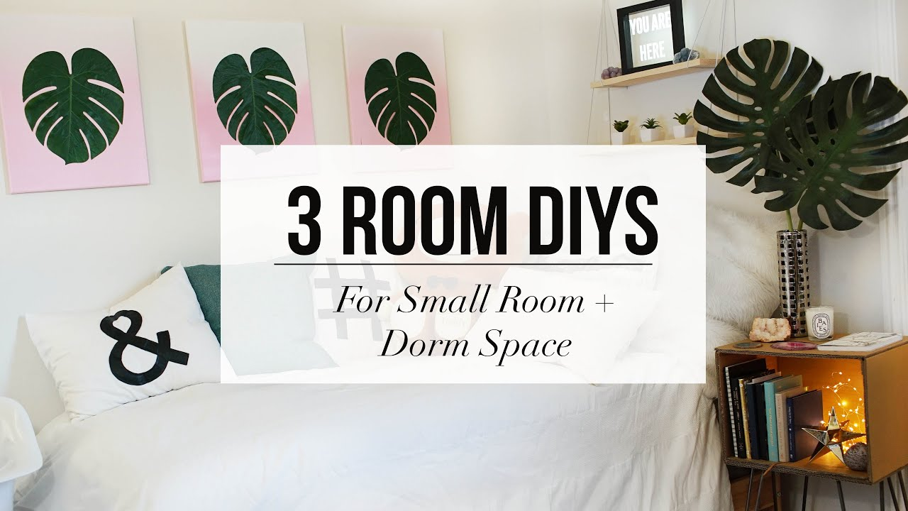 3 ROOM DECOR DIY For Dorm Or Apartment | ANN LE   YouTube