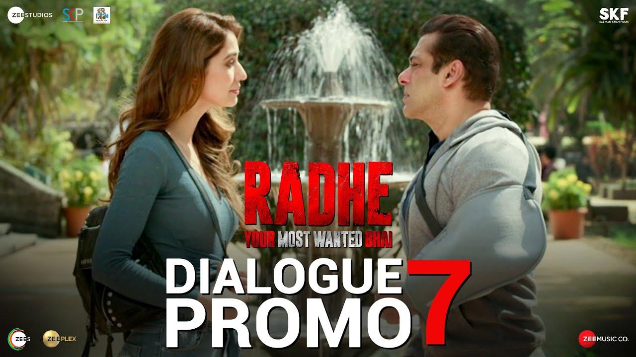 Radhe: Dialogue Promo 7 | Salman Khan | Disha Patani | Prabhu Deva | 13th May