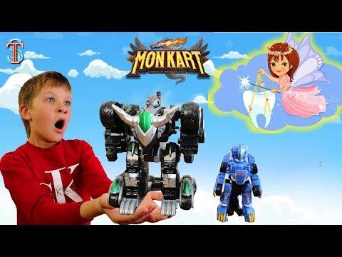 Видео монкарт игрушки обзор