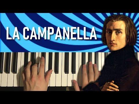 Liszt - La Campanella (Piano Tutorial Lesson)