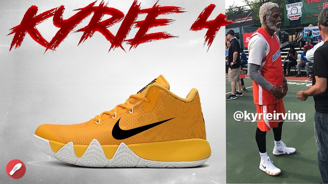 c898c544df0a Was Uncle Drew Wearing the Kyrie 4 ! - YouTube