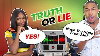 LIE DETECTOR TEST ON MY LITTLE SISTER!