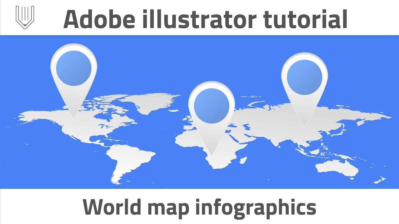 How to create world map infographics adobe illustrator tutorial how to create world map infographics adobe illustrator tutorial sciox Gallery