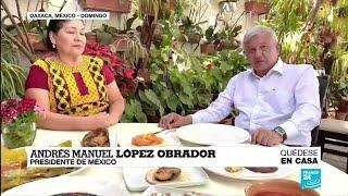 Coronavirus en México, presidente López Obrador pide a la población no dejar de salir a la calle