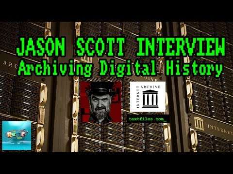 The Internet Archive with Jason Scott - The Retro Hour EP69