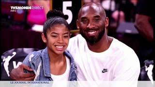 Basketball - Hommages après la mort de Kobe Bryant dans un crash d'hélicoptère avec sa fille Gianna